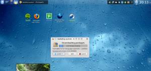 Actualizando con el gestor de paquetes de KDE 4.3