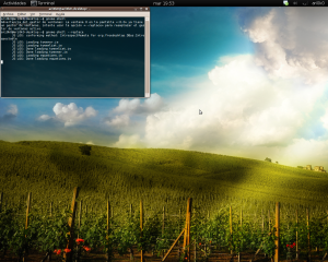 Ejecutar gnome-shell